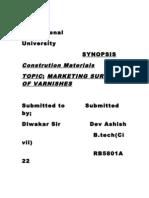 Lovely Professional University SYNOPSIS