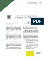 GM-03 - Correction Captains Letter of Governing Instruction 0905
