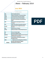 Abbreviations in News - February 2014 - Bestguru