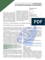 Boletin de Matematica 2011 i