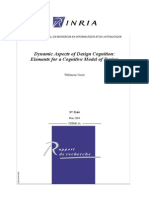 Dynamic Aspects of Design Cognition