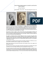 The Use of the 1934 Queen Emma Charity Stamps On