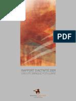 Rapport d'Activité 2009 CPM