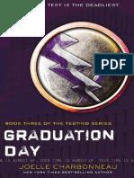 Graduation Day Excerpt by Joelle Charbonneau