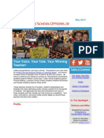 PublicSchoolOptions.org May 2014 Newsletter