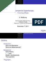 Presentation on Metamaterials