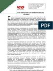PLATAFORMA DE UNIDAD POR LOS DERECHOS DE LOS JÓVENES