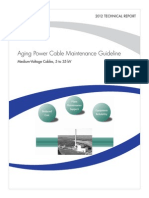 EPRI Aging Power Cable Maintenance Guideline 1024044