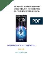 Intervention Theory Intro