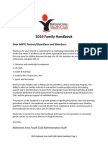 2014 family handbook