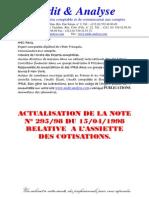 04082012 Actualisation de La Note Relative a Lassiette Des Cotisations
