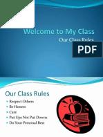 educ 201 class rules