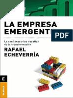 Echeverria Rafael La Empresa Emergente