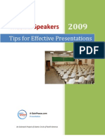 Muslim Speakers - Tips for Effective Presentations