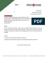 Semáforo Cruce Peatones Olaguibel (20/2014)