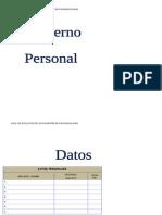 Cuaderno Personal Editable 2013 2014