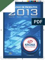 Catálogo de Produtos Krona 2013