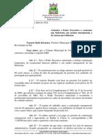Projeto de Lei 021 - Lei 990