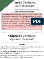Chapitre Régression Corrélation Causalité