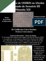 Los Misterios de OSIRIS en Abydos en el reinado de Sesostris III - Dinastía XII - Imágenes