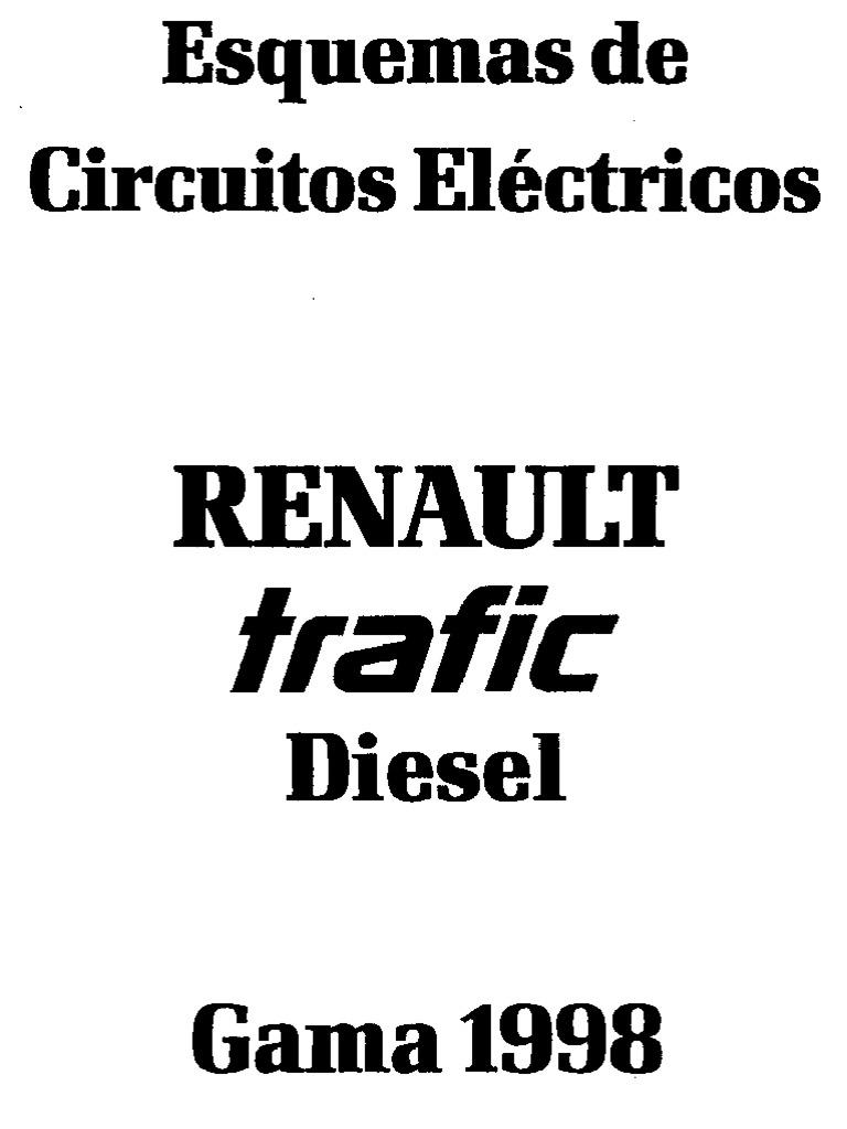 Renault Trafic Diesel Esquema Electrico
