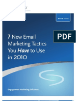 7 New Email Tactics for 2010
