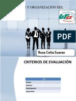 Planeacion y Organizacion Del Trabajo