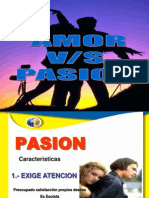 Amor vs. Pasión