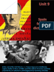 unit 9 spain franco dictatorship