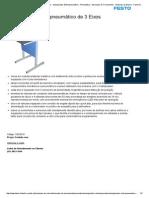 Manipulador Eletropneumático de 3 Eixos - Manipulador Eletropneumático - Pneumática - Bancadas de Treinamento - Sistemas de Ensino - Festo Didactic