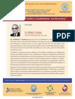 Public Lecture _Dr. Subhash C. Kashyap