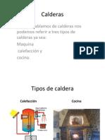 Presentacion de Calderas