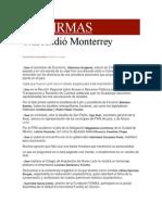 27-05-2014 Milenio.com - Trascendió Monterrey.