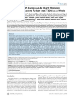 2011 Mitochondrial DNA Heteroplasmy in Diabetes and Normal Adults Role Of