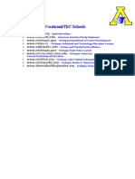 Websites for Vocational/TEC Schools