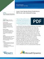 Microsoft Dynamics CRM Customer Solution Case Study - Travel Dynamics International