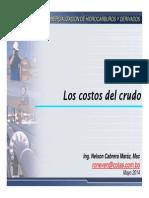 MOD05!05!1Los Costos Del Crudo y Valor en Boca de Pozo