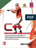 C++ SOLUCIONES DE PROGRAMACION