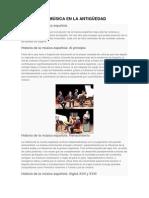 Historia de La Música Española