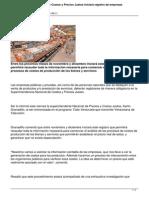 Superintendencia Nacional de Costos y Precios Justos Iniciara Registro de Empresas