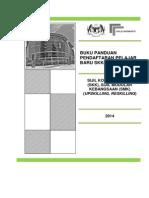 Buku Panduan Pendaftaran 2014