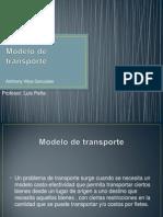 Modelo de Transporte