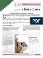 VideoGames Glorification of Drug Abuse PDF