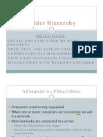 Folder Hierarchy