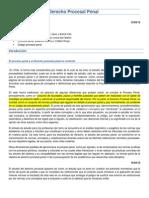 Derecho Procesal Penal Jazmin