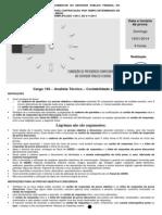 103 Analista Técnico - Contabilidade e Finanças