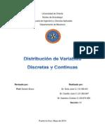 Distribuciones B,P,G,N