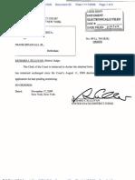 DiPascali Frank Regarding Bail Status 2009.11.17