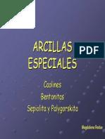 Arcillas especiales
