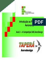 Aula 02 - A Competição SAE-AeroDesign[